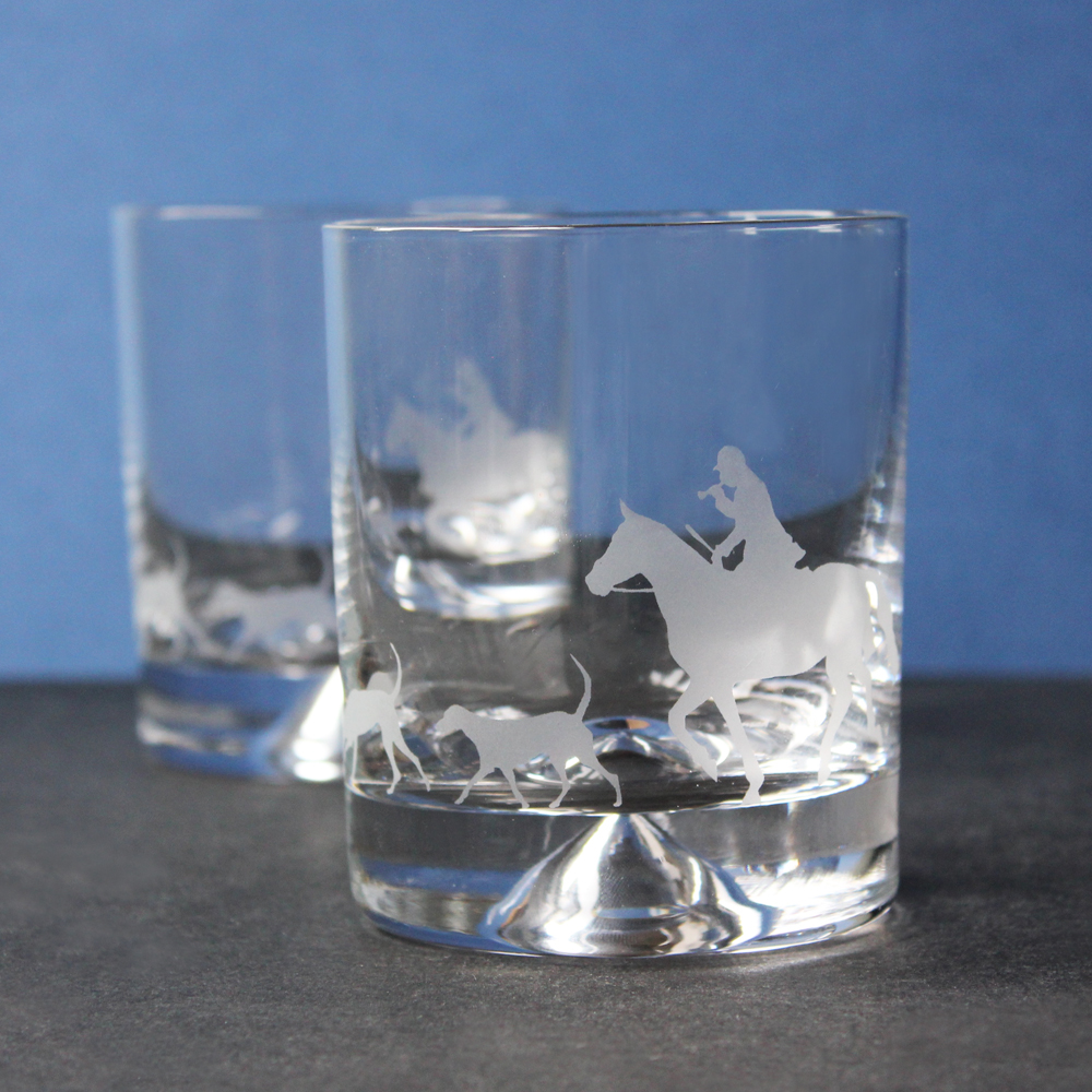 Horse and Hound Tumbler