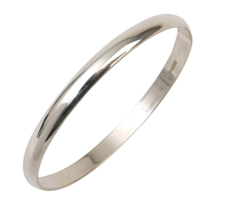 6mm Sterling Silver Alice Bangle