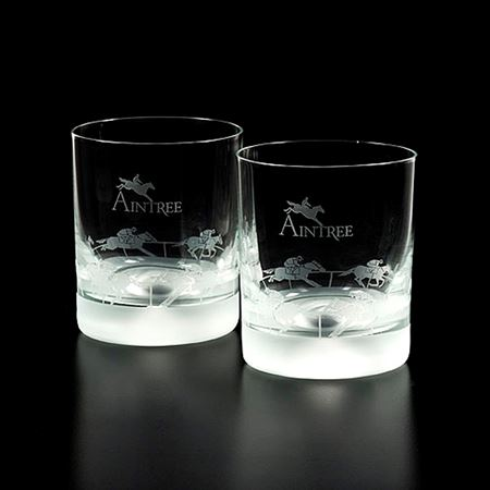 Aintree Grand National Racing Tumblers supporting The Bob Champion Cancer Trust