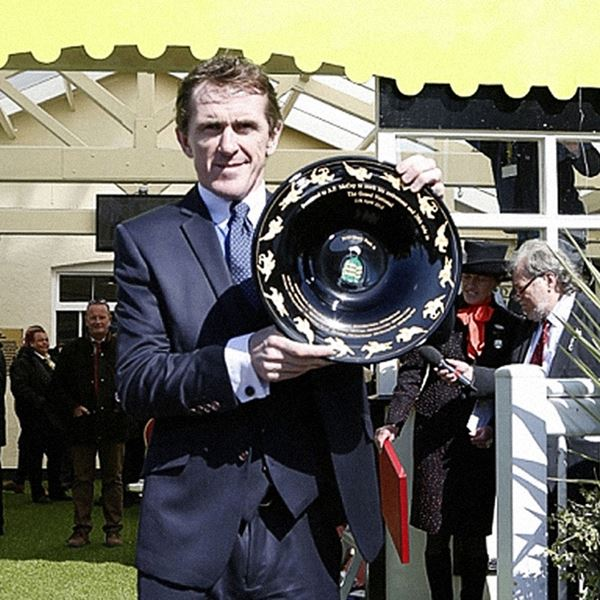 AP McCoy Retirement Plate