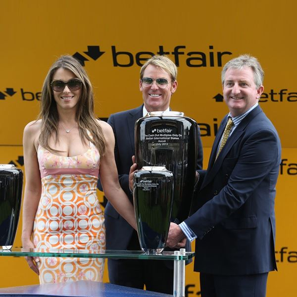 Betfair Cash Out International Stakes Trophies