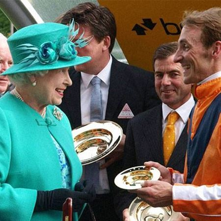Betfair King George VI & Queen Elizabeth Stakes Trophies
