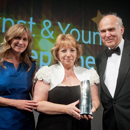 Ernst & Young Start Up Britain Award