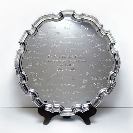 Eton College Chippendale Tray