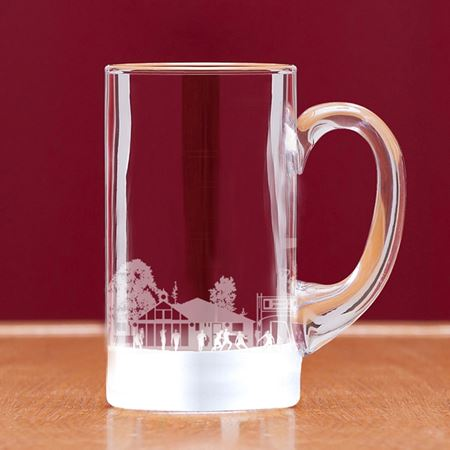 Football Scene Pint Tankard