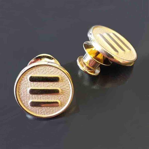 Gold Tuxedo Lapel Pin