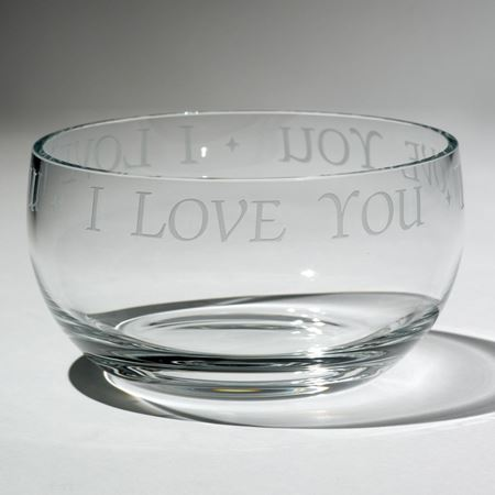 'I love you' bowl