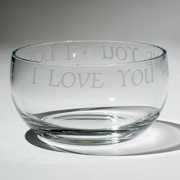 'I love you' bowl