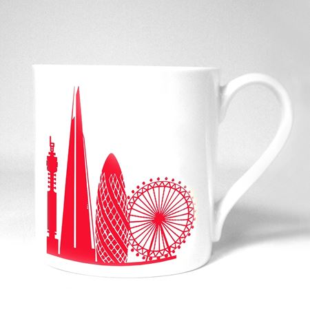 London Skyline China Mug
