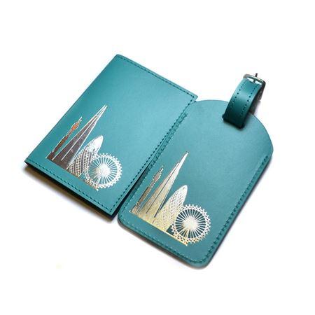 Recycled London Skyline Card Holder