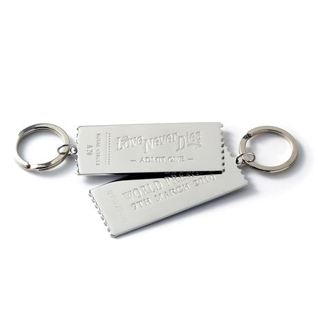 Love Never Dies Keyring