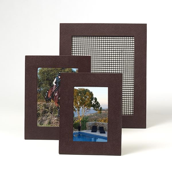 Mulberry Leather Photograph Frame