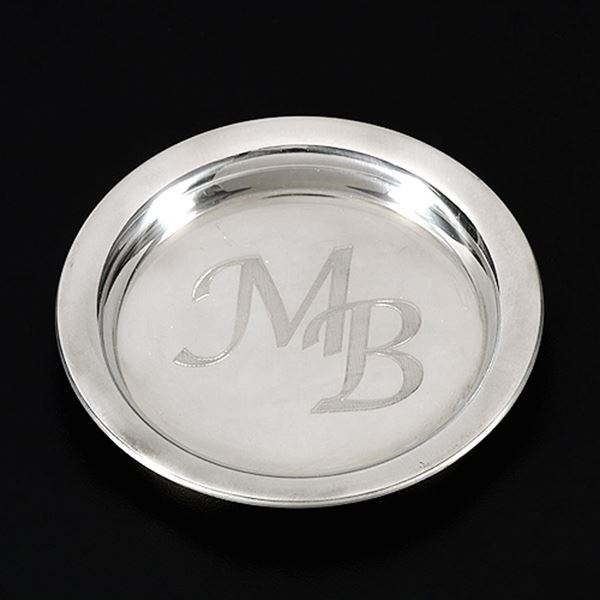 Pewter Coaster