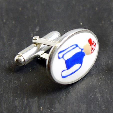 Racing Colour Cufflinks