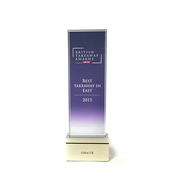 Rectangular Glass Awards