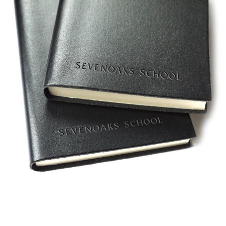 Sevenoaks School Leather Notebook