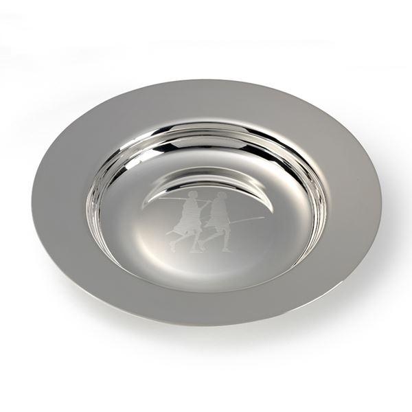 Silver Plate Maasai Alms Dish