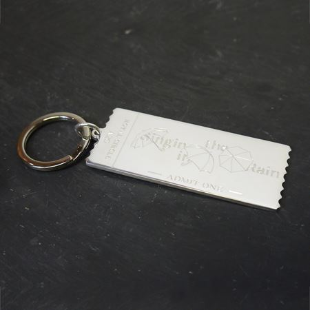 Theatre Ticket keyring