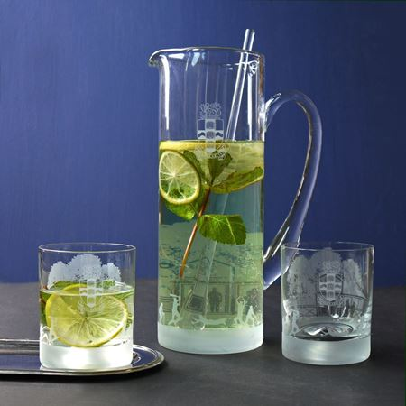 Cheam School Jug & Tumblers
