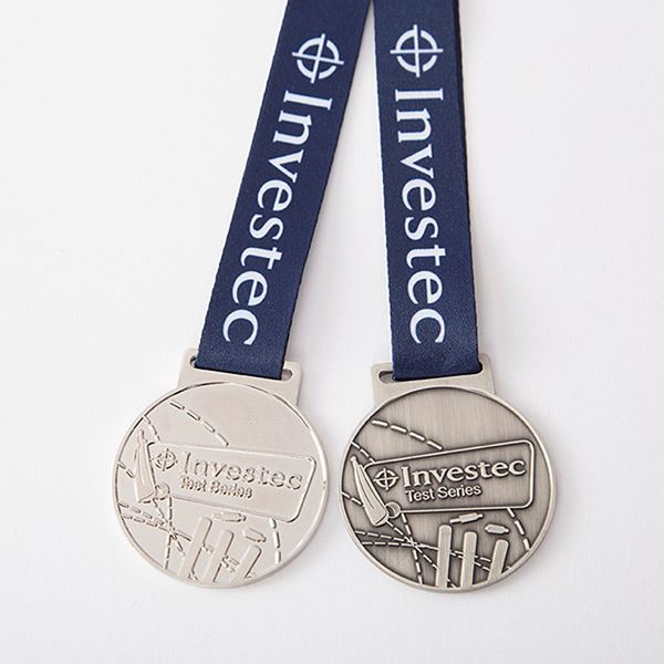 Investec Test Series Winners & Runners-up Medals
