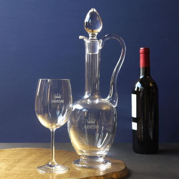 Clear Crystal Claret Jug