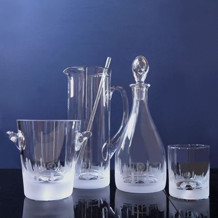 London Skyline Etched Glass Collection