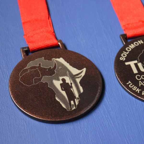 Tusk Trust Conservation Awards Medal