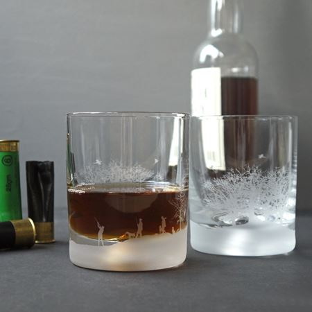 Macnab Etched Glass Tumbler Set