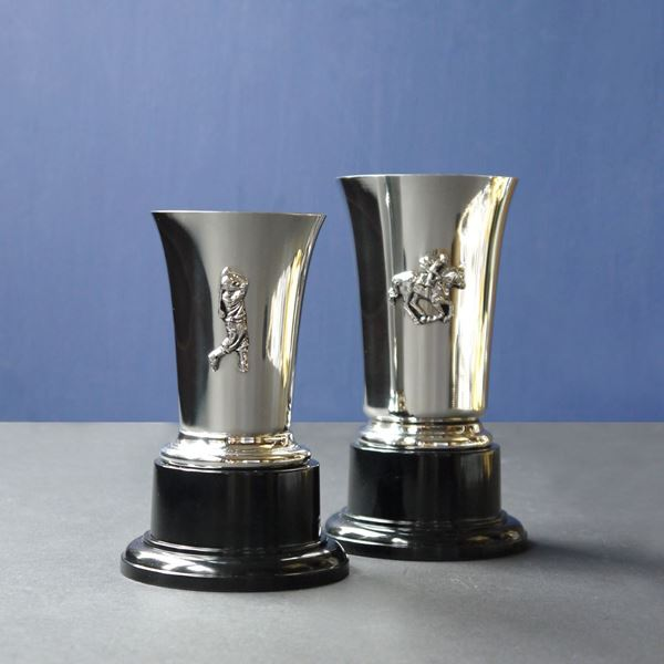 Pewter Chelsea Trophy Cups