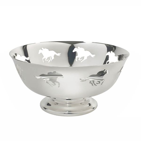 Silver Plate Racing Revere Bowl