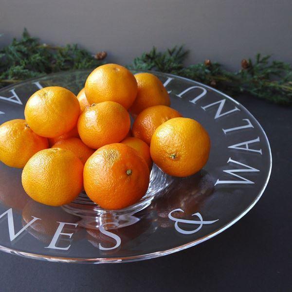 Tangarines and Walnuts Bowl