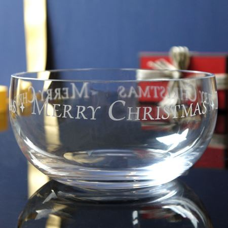 Merry Christmas Bowl