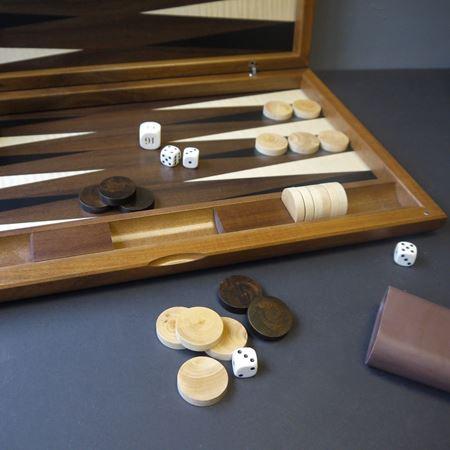 Walnut Backgammon Board