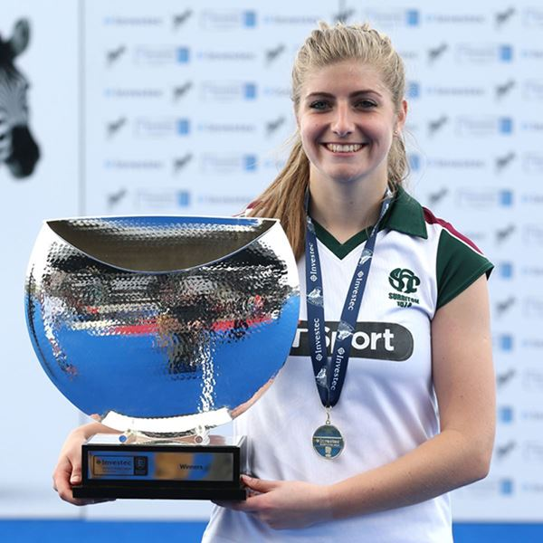 Investec womens hockey league trophy