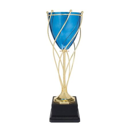 Blue Twisted Trophy