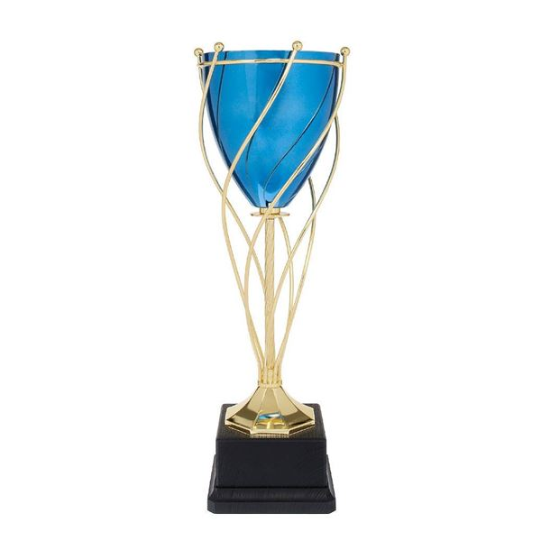 Blue Twisted Trophy