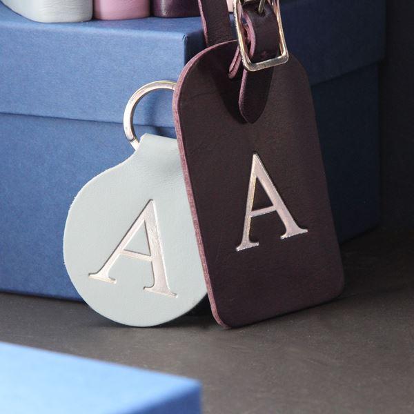 Piccadilly Bag Tag and Keyring Set