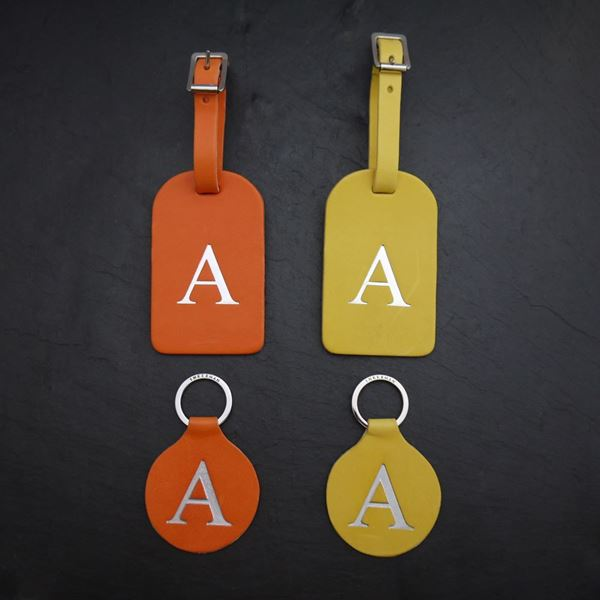 Piccadilly Bag Tag and Key Ring Set