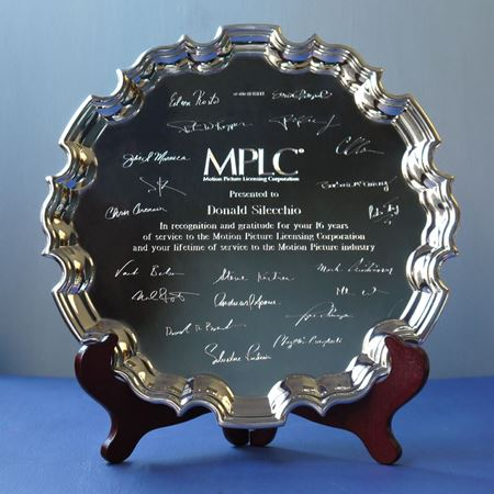 Sterling Silver Chippendale Tray