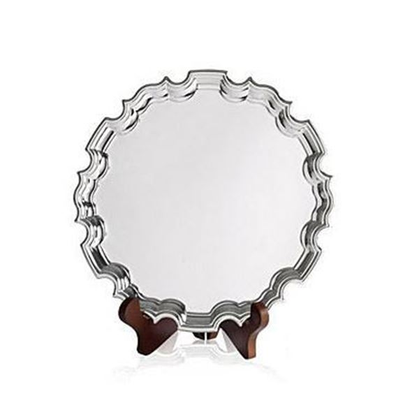 Silver Plate Chippendale Salver