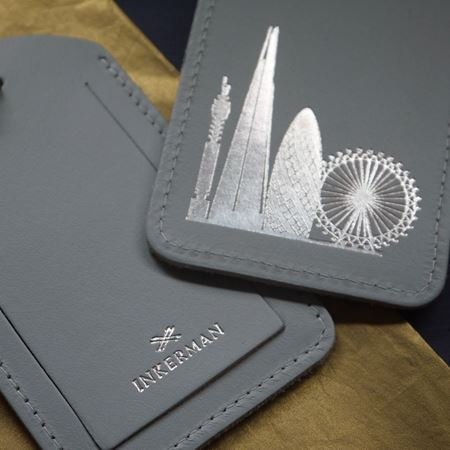 London Skyline Luggage Tags