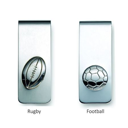 Football Money Clip