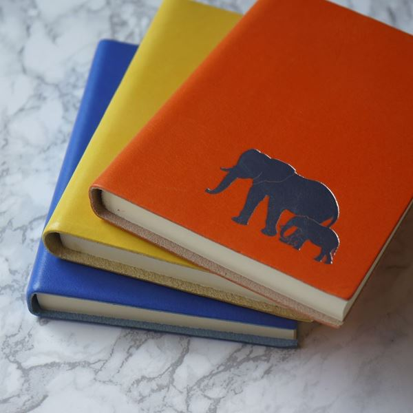 Elephant Leather Notebooks in A5 & A6