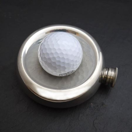 Pewter Hole in One Flask