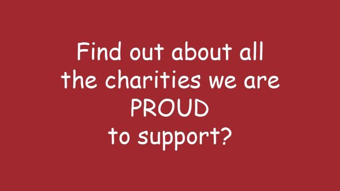 Donating and Giving Back: Charities We Support