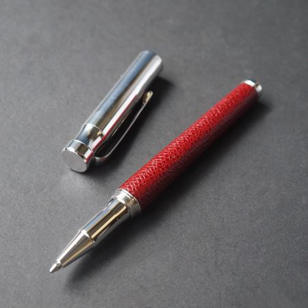 Inkerman Sterling Silver and Leather Pen