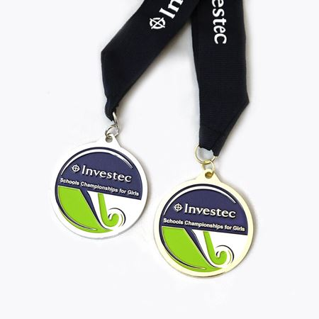 Investec Schools Hockey Championship for Girls Medals