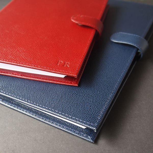 Red and Navy Notebook Covers