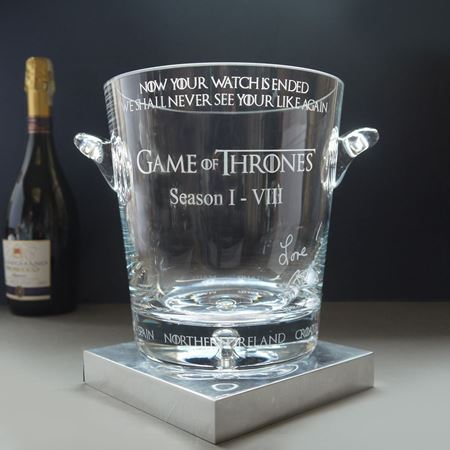 Game of Thrones Champagne Cooler