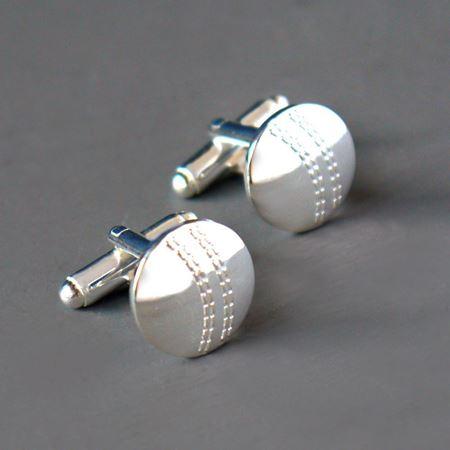 Cricket Ball Cufflinks